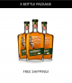 TxM Straight Rye Whiskey Batch 001 - 3 Bottle Package